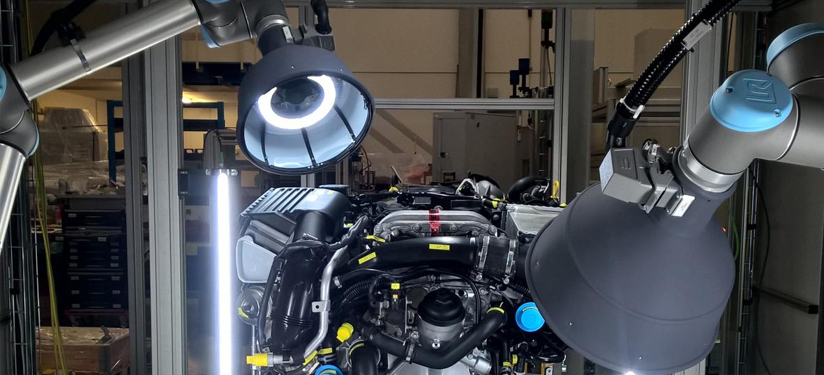 NeuroCheck Assembly control - final motor inspection (Image ©NeuroCheck)