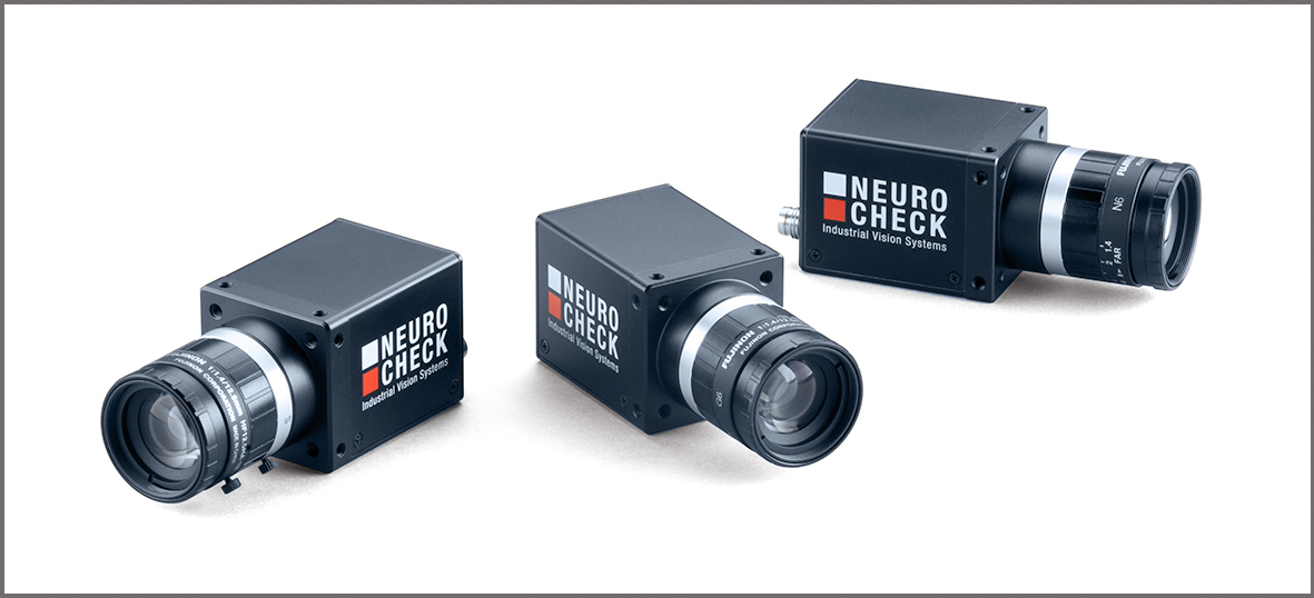NeuroCheck Digital cameras (Image © NeuroCheck)